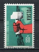 35715) Poland 1964 MNH Union Of Fighters For Freedom 1v