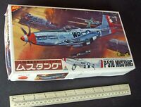 1980s Nichimo Japan USAAF P-51D Mustang 1:48. Factory Sealed Bags. Superb