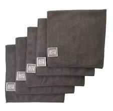 AUTOGLYM High Quality Microfibre Polishing Cloth x5 + Free Sponge Applicator