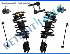 "New 8pc Complete Front Quick Install Ready Strut Kit - Fits 16"" & 17"" RIMS ONLY"