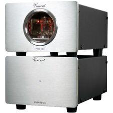 VINCENT PHO-701 - Préamplificateur phono à tube MM/MC/USB - Alu