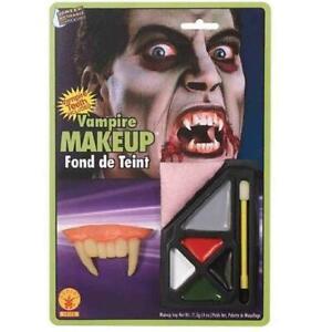 Vampire Face Paint kit Scary Horror Halloween Fancy Dress Make Up Kit