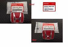 Honda S2000 FRONT AND REAR EMBLEMS JDM  H Red Genuine Badges S2K AP1 AP2 2001-09