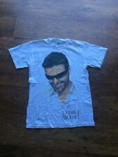 ❤️EXTREMELY RARE T-SHIRT❤️25 Live with U.S Tour Dates-George Michael (Wham!)