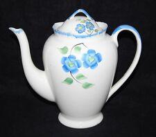 James Kent - Blue Flower - Coffee Pot - Vintage/Retro - 1930/1940's