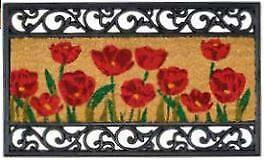 Poppy Door Mat 75x45 *Free P&P*