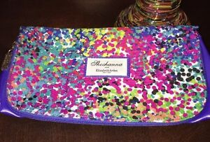 Elizabeth Arden Shoshanna Limited Edition Multi-Colored Dotted Night Bag Sparkle