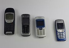 Mobile Phone Lot of 4 Not Working, Broken, Untested, Sony, Nokia, Ericsson