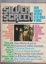 Silver Screen Magazine August 1971 Barbra Streisand Catherine Deneuve Kim Darby
