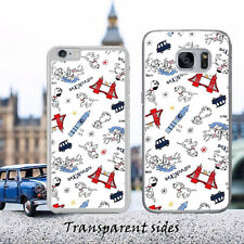 Disney 101 Dalmatain London Adventure Phone Case Cover For iPhone,Samsung Huawei