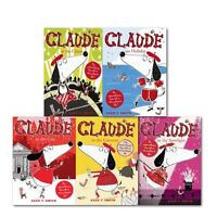 Alex T Smith Claude Series Collection 5 Books Set, Claude in the City