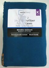 PILLOW CASES ..SET OF 2..KING SIZE..SOFT MICROFIBER