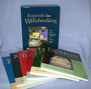 Essentials of Woodworking Gift Set 6 books paperback Jigs Joinery Techniques