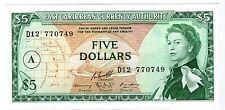 ANTIGUA Caraibes EASTERN EAST CARIBBEAN Billet 5 Dollars 1965 P14i  A NEUF UNC