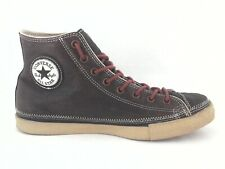 CONVERSE ALL STAR Shoes Brown Leather Hi Top Thinsulate US Mens 10.5 Womens 12.5