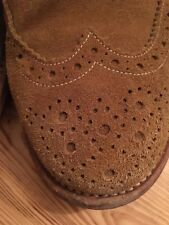 Trickers Derby Brogues Marraca Janus Suede Dainite Uk10,5 Eu 45