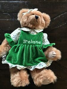 Traditional Craftwear Ireland Bear 15""
