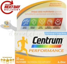 Multi Vitamins And Minerals Centrum Performance Pack Of 30 For Men & Women