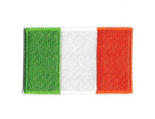 IRELAND FLAG IRON ON PATCH Embroidered Badge IRISH WALES ENGLAND SEW PT228