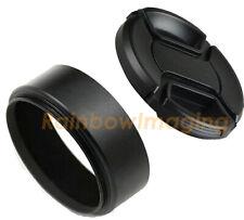 "49mm Metal Screw-in Hood for Standard Lens with Lens Cap ""US seller"""