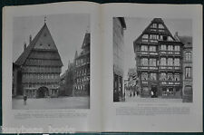1915 Münster GERMANYmagazine article, plus other German small towns, pre WWI