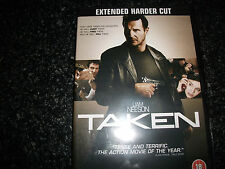 **Taken DVD With Liam Neeson Rated 18 Good Condition**