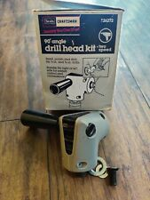 Sears Craftsman Right Angle Drill Adapter 26271 38 90 2 Speed