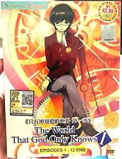 The World God Only Knows: Season 1 (1 - 12 End) ~ DVD ~ English Subtitle ~ Anime