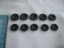 Knöpfe in blau Vierlochknopf - matt – NEU- 14 mm 5 Stk. f. Hosen