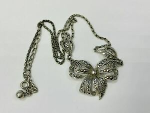 Antikschmuck, Kette, 835 Silber, 11,09g, circa 38cm länge (43724)