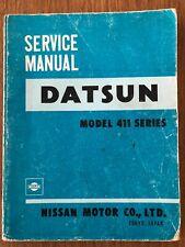 Datsun 411 Workshop Service Owners Manual Vintage Original