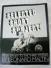 Selected Short Subjects1972 Spanky Three Stooges A Da Capo Leonard Maltin Book