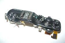 Nikon Coolpix P7100 Top Cover Shutter Release Button Hot SHoe Flash On/Off  part