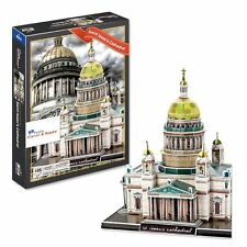 Saint Isaacs Cathedral 3D Puzzle. St. Petersburg Russia (105 Pcs)#PZSIC
