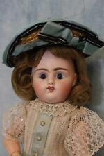 """12"""" French Bisque Bebe by Pintel and Godchaux Antique Doll Cute Outfit C PG DF"""