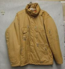 S3892 Bogner Brown Full Zip Winter Ski Jacket Hooded Lined Made in Italy