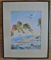 Frame Surrealism Salvador Dali Print
