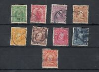New Zealand KEVII 1909 Set To 1/- Fine Used JK2942