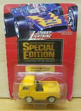 Johnny Lightning 1/64 Special Edition 1/5000 1965 Dodge Pickup Truck YELLOW