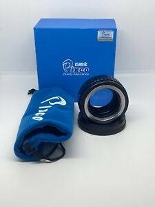 Pixco M42 Lens to Sony NEX (E-Mount) Speed Booster (Focal Reducer) Adapter
