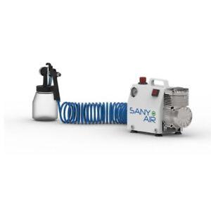 SANY + AIR NYCA-BP SYSTEM Compresseur de désinfection ou idéal aérographie