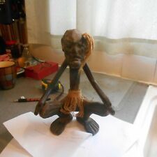 "wooden, african figure ornament, 11 1/4"" high"
