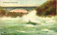 Vintage Postcard - Posted 1937 Whirlpool Rapids Niagara Falls New York NY #3702