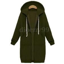 Women Casual Ladies Long Sleeve Warm Winter Hoodies Cardigan Jacket Outwear Hot