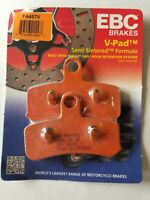 EBC FA457V Semi-Sintered V Brake Pads 1 Pair for FRONT DYNA SOFTAIL 08-20