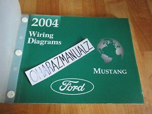 2004 FORD MUSTANG Wiring Diagrams Manual OEM