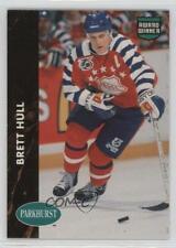 1991-92 Parkhurst Collectibles Brett Hull #PHC6 HOF