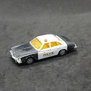Buick Regal Police Car CORGI Juniors Die-Cast Vintage Vehicle 1975 Mettoy