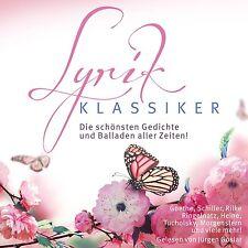 Höbruch CD Lyrik Klassiker Die Hörbuch Box 8CDs Goethe, Schiller, Rilke, Heine