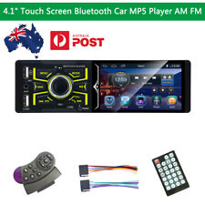 Indash Car Stereo Bluetooth FM Radio MP5 Player USB SD AUX Remote Control